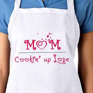 Personalized Gifts-Apron For Sweetest Mom
