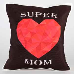 Personalized Gifts-Mom Forever Cushion