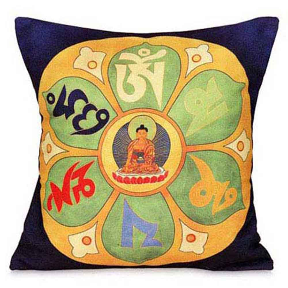 Thangka Print Cushion