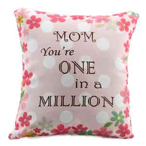 Personalized Gifts-Worlds Best Mom Cushion