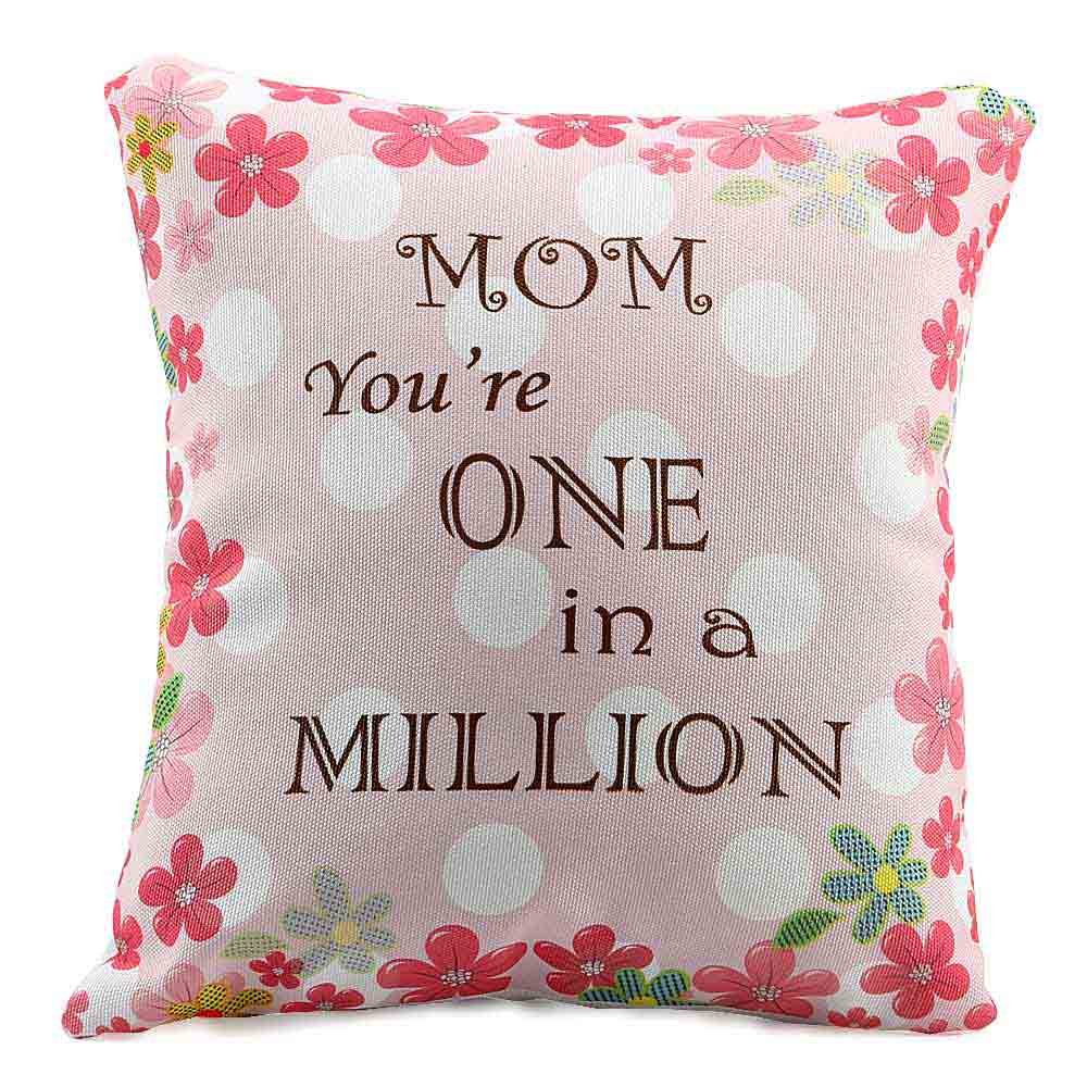 Worlds Best Mom Cushion
