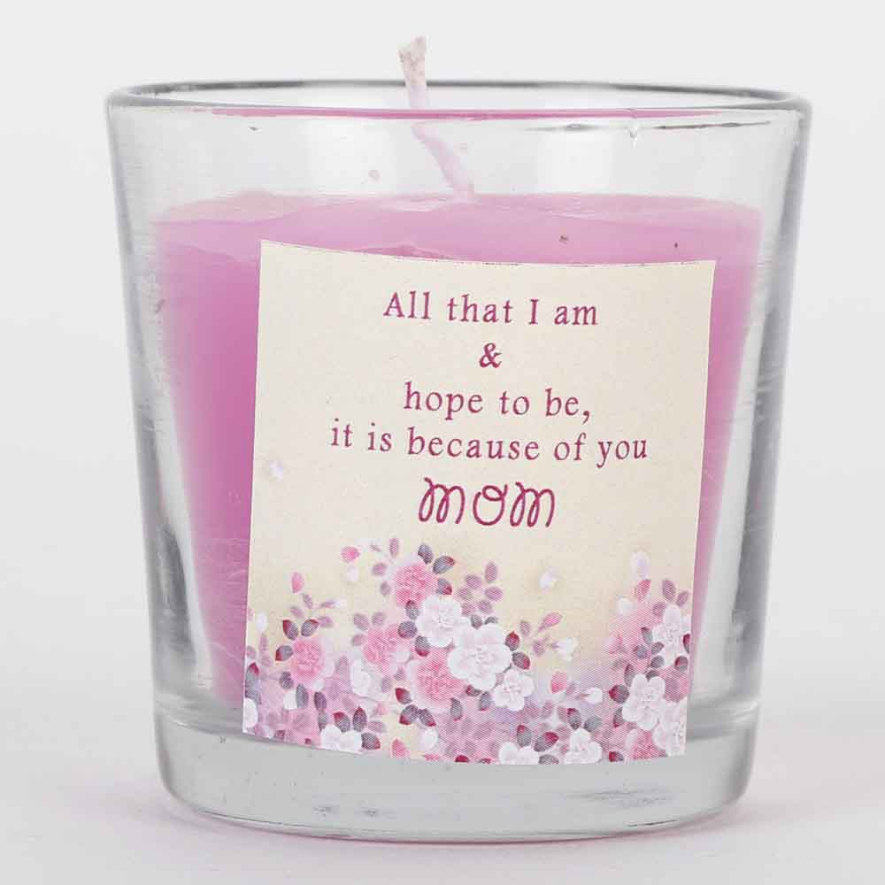 Glowing Love Candle