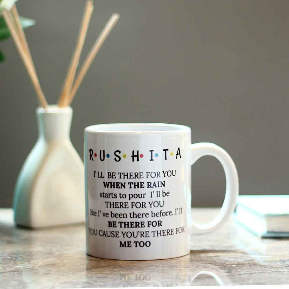Personalised FRIENDS Themed Mug