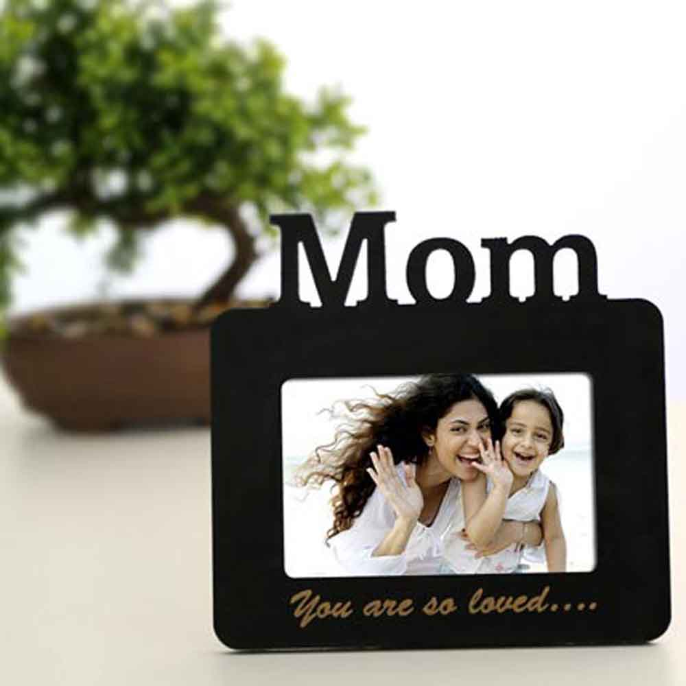 Lovely Mom Personalized Frame