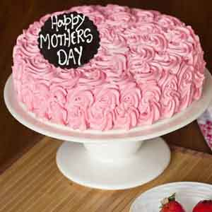 Cakes-Mothers Day Special Strawberry Cake