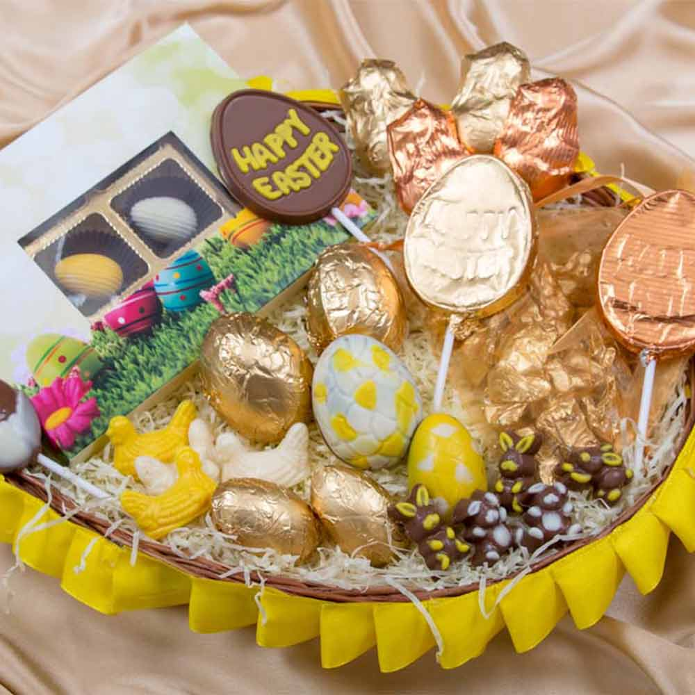 Easter Specials-Easter Chocolate Treasure Basket