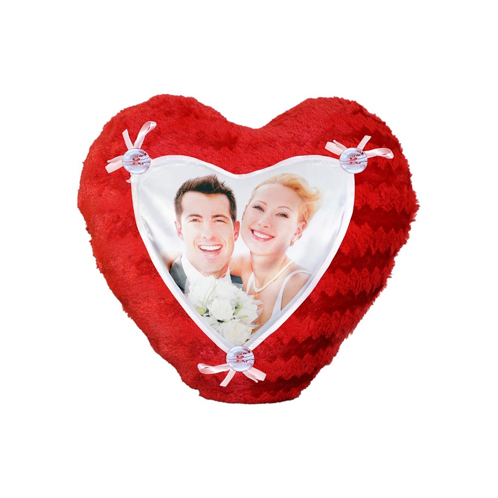Personalized Heart shape Pillow
