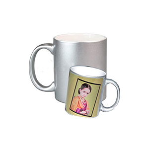 Mugs-Personalized Silver Mug