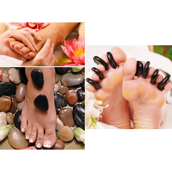 Body & Soul-Hot Stone Foot Experience - Couple
