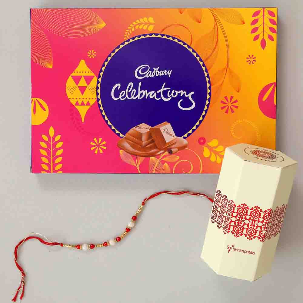 Cadbury Celebrations & Pearl Rakhi Combo