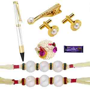 Gifts for Brother-Attractive Rakhi Hamper