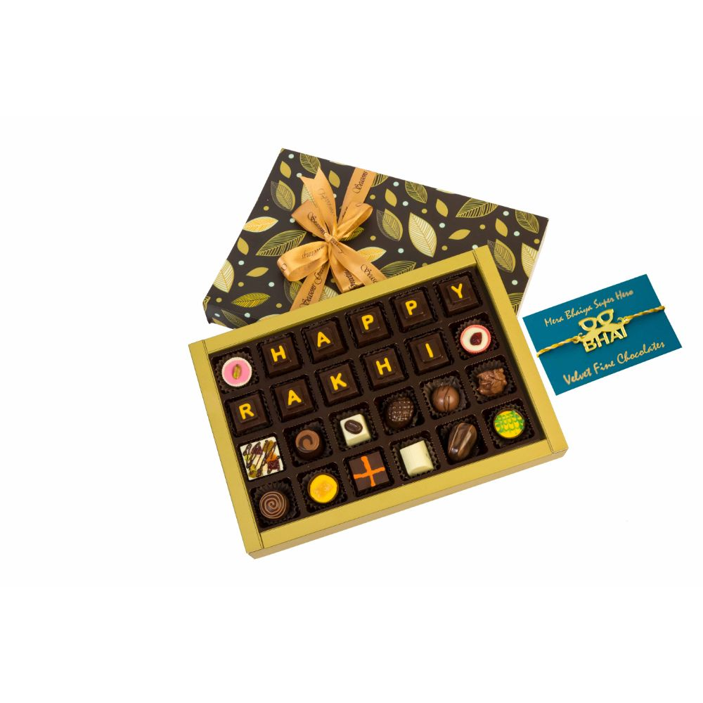 Rakhi for bro chocolate