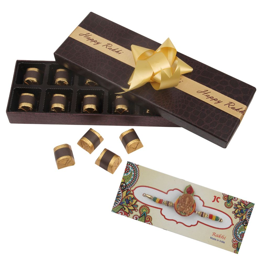 Rakhi Executive Box 12 pcs Combo