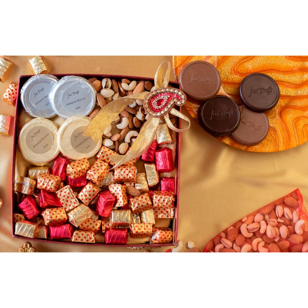 Dry Fruits and Chocolate Cheer Hamper