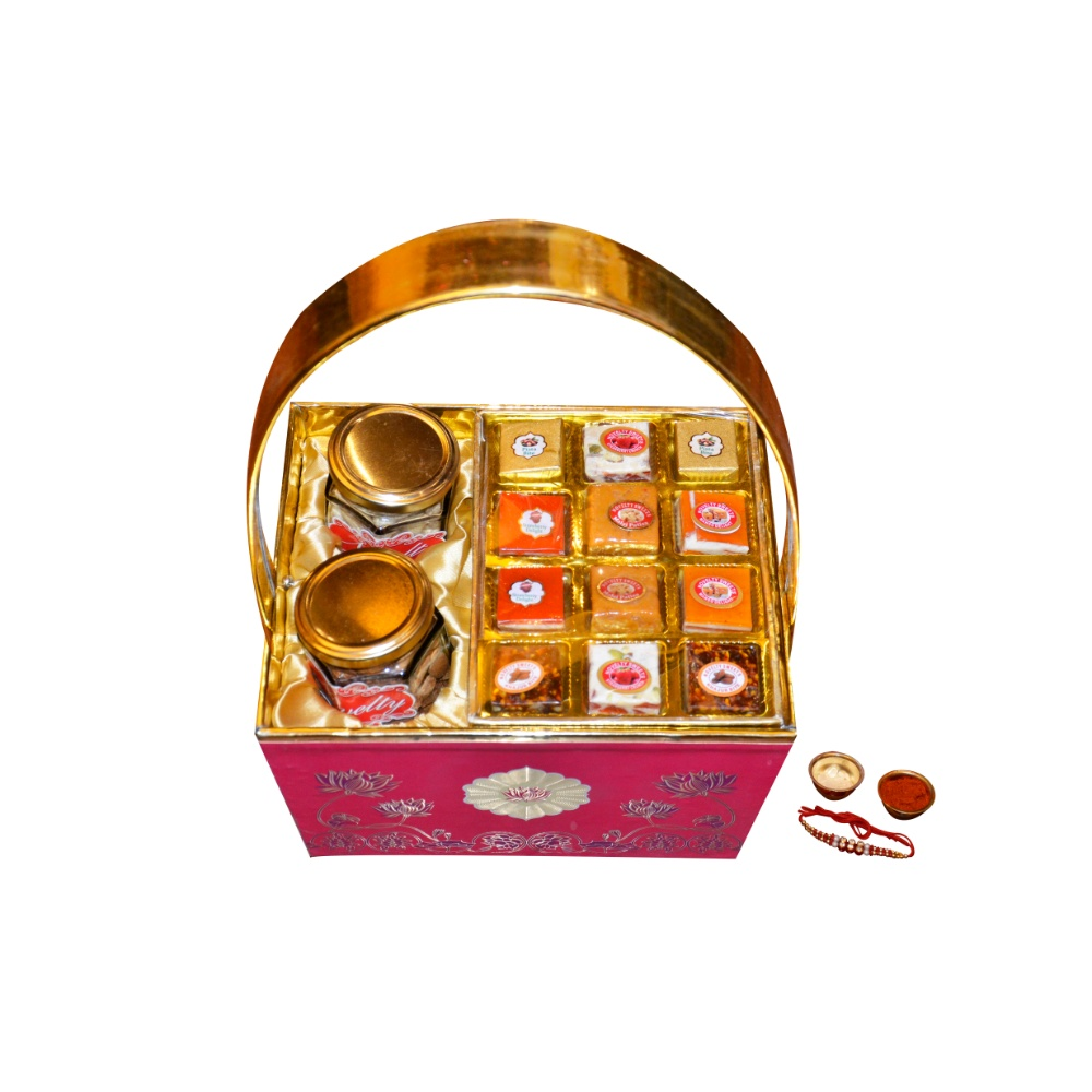 Sweets and Dry Fruit Basket