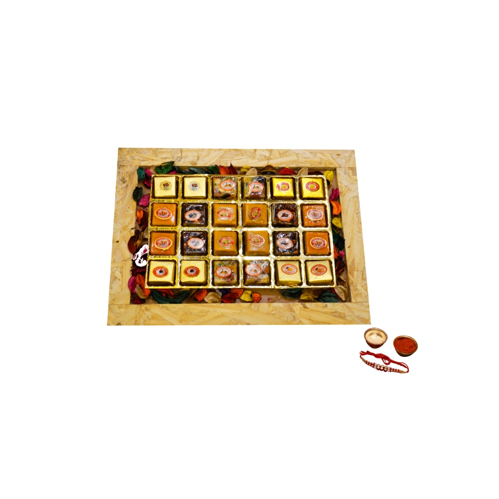 Wooden Sweets Tray
