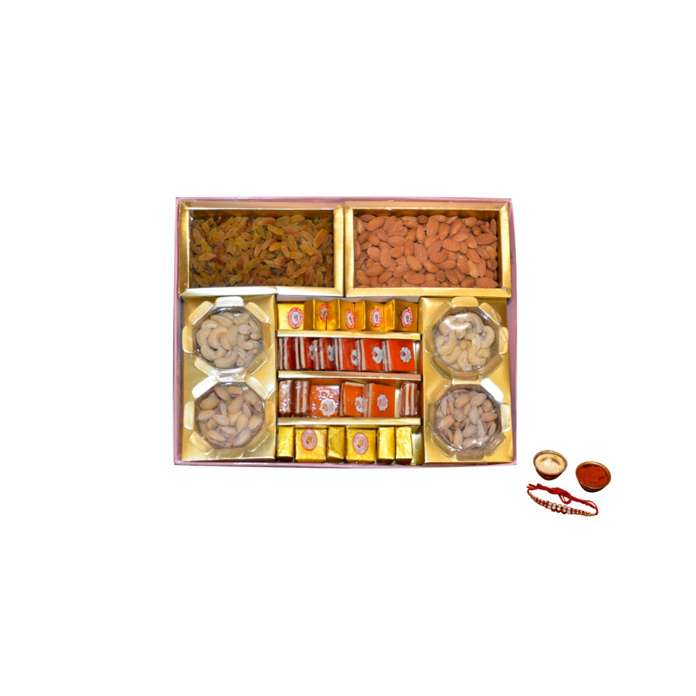 Premium Sweets and Dry Fruit box