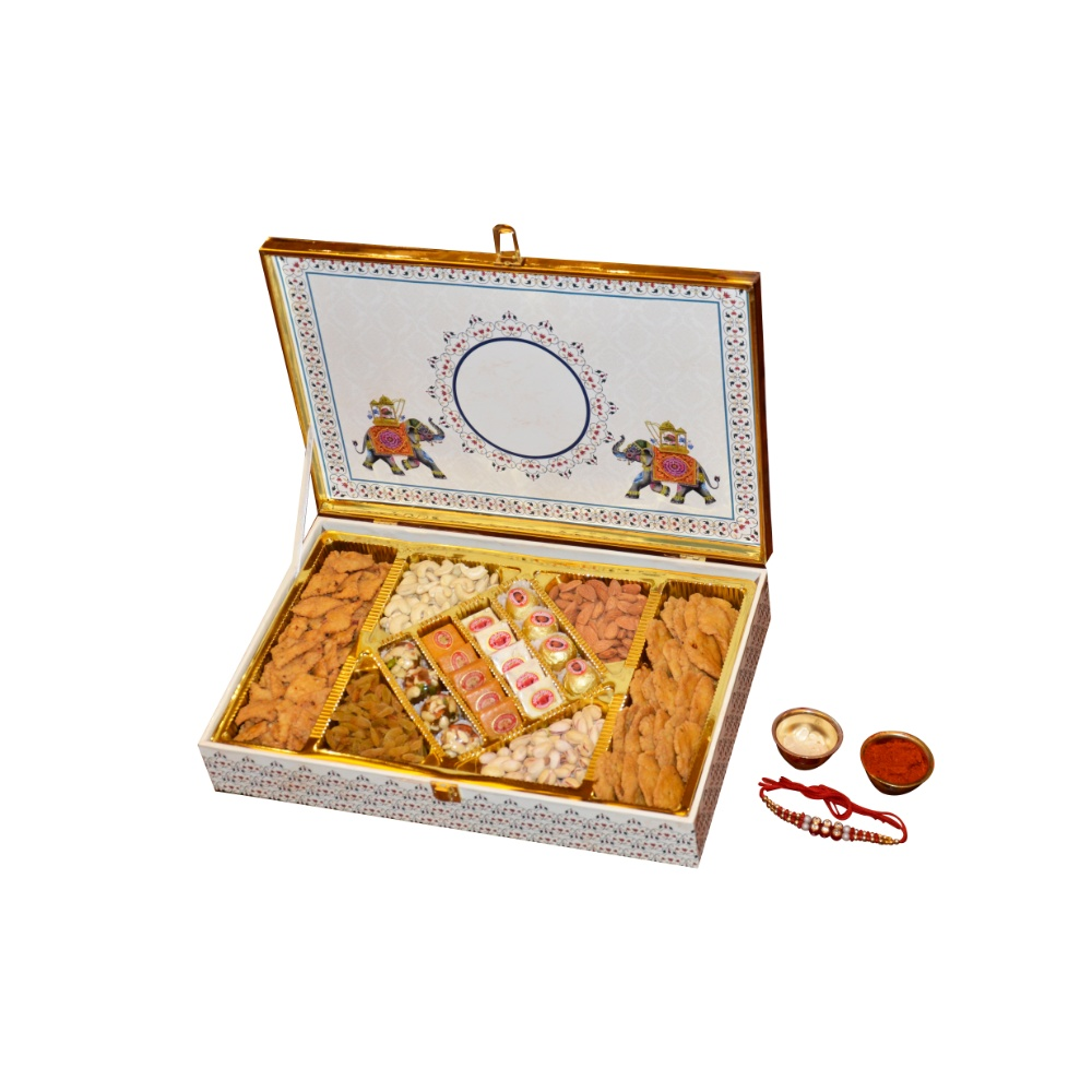 Royal Sweets and Dry Fruit Hamper