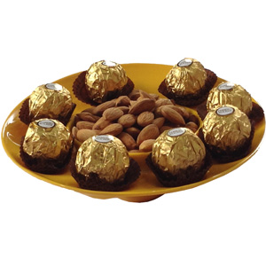 Chocolate Hampers-Ferrero Almond Delight