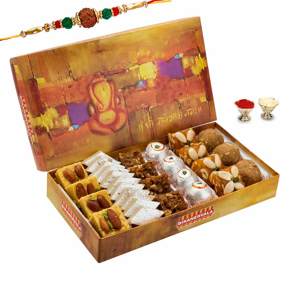 Rakhi Hampers-Sweet Delight Rakhi