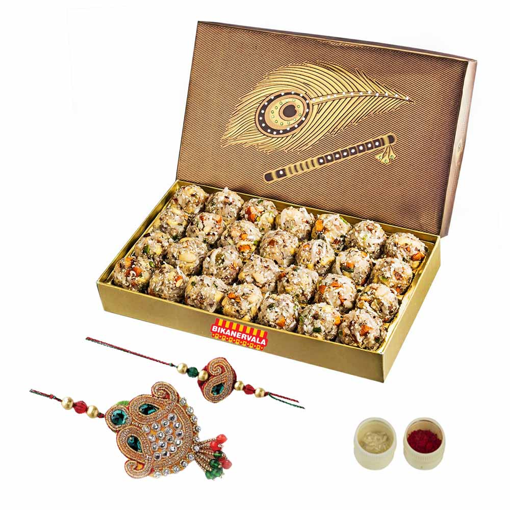 Dry Fruit Laddoo n Rakhi Loomba Set