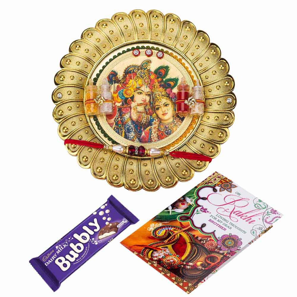 Rakhi Hampers-Sweet Rakhi Wishes
