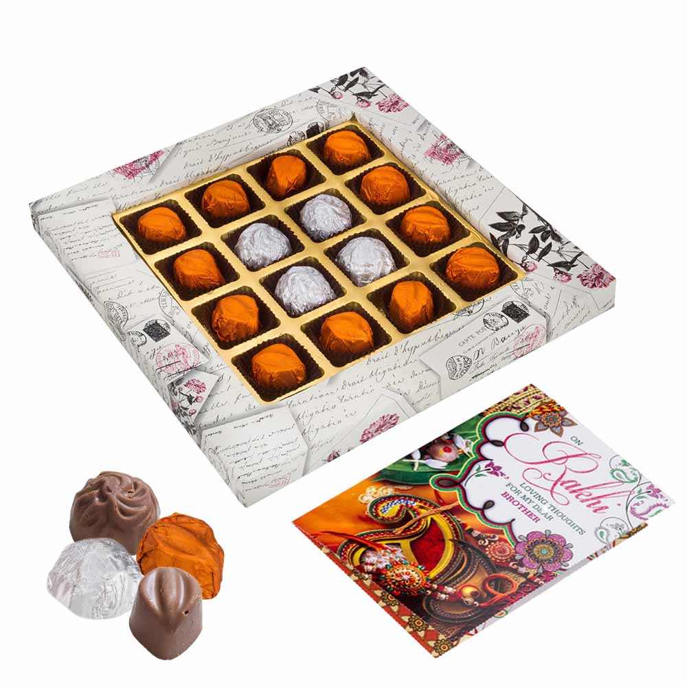 Rakhi Hampers-Bikanervala Chocolaty Rakhi Greetings