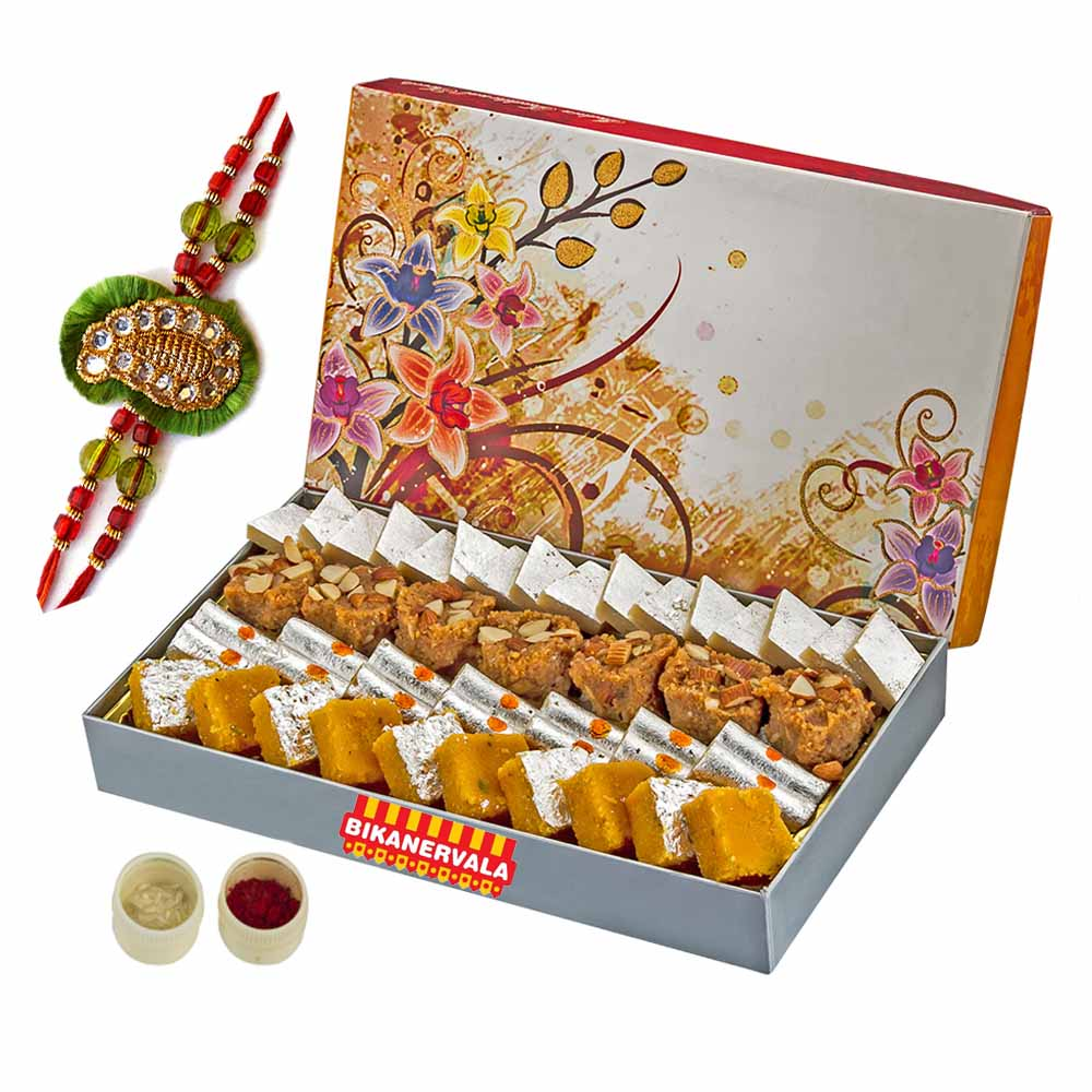 Rakhi Hampers-Bikanervala Popular Kaju Mix