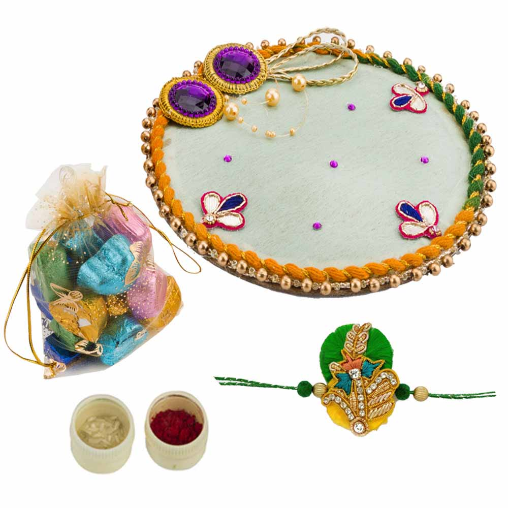 Rakhi Hampers-Bikanervala Rum n Raisin Choco Moments