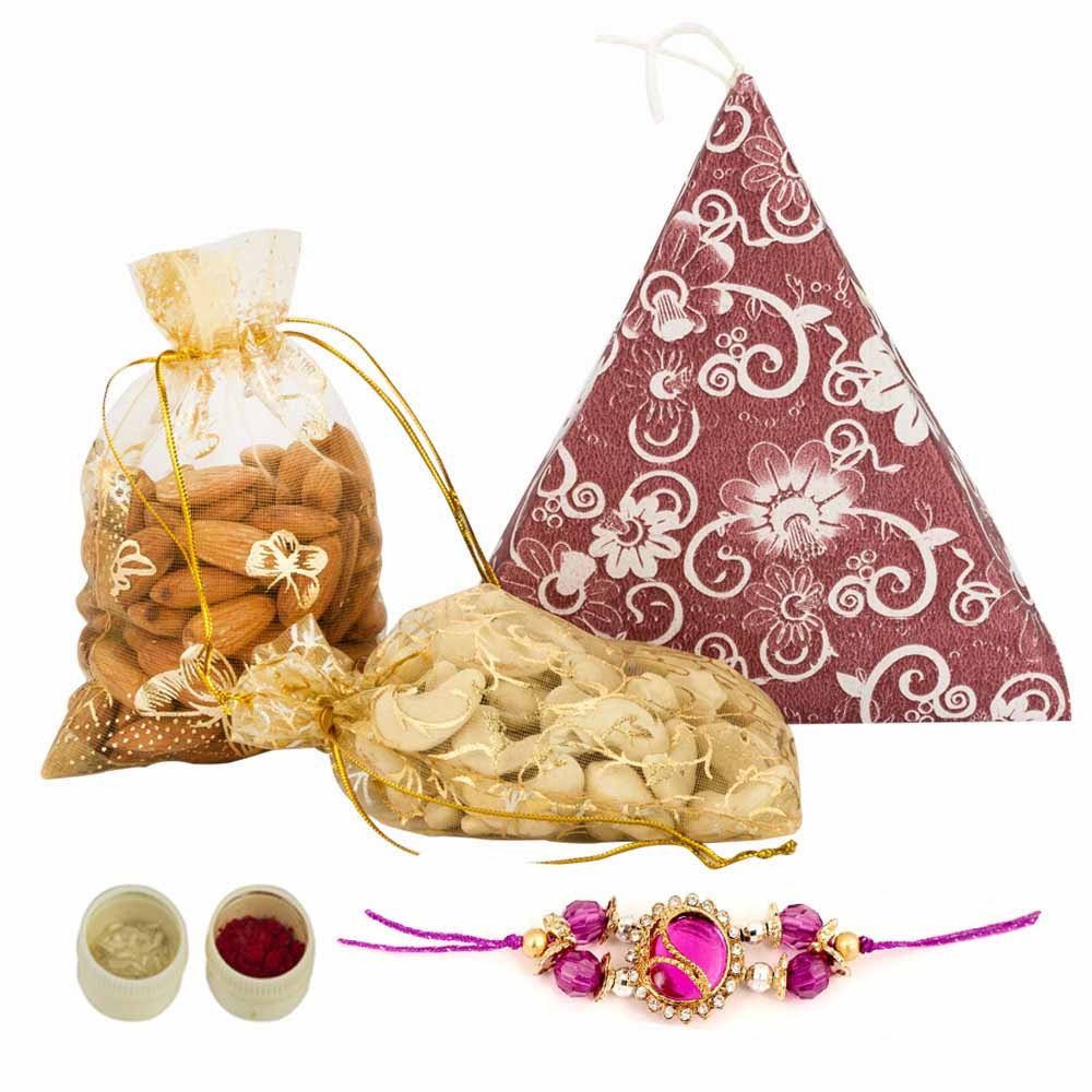 Rakhi Hampers-Healthy Rakhi greetings