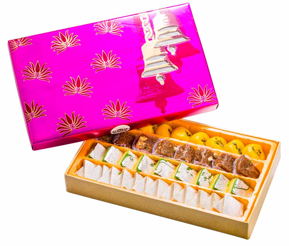 Assorted Mithai Boxes-Bengal Sweet's Heavenly Assortment