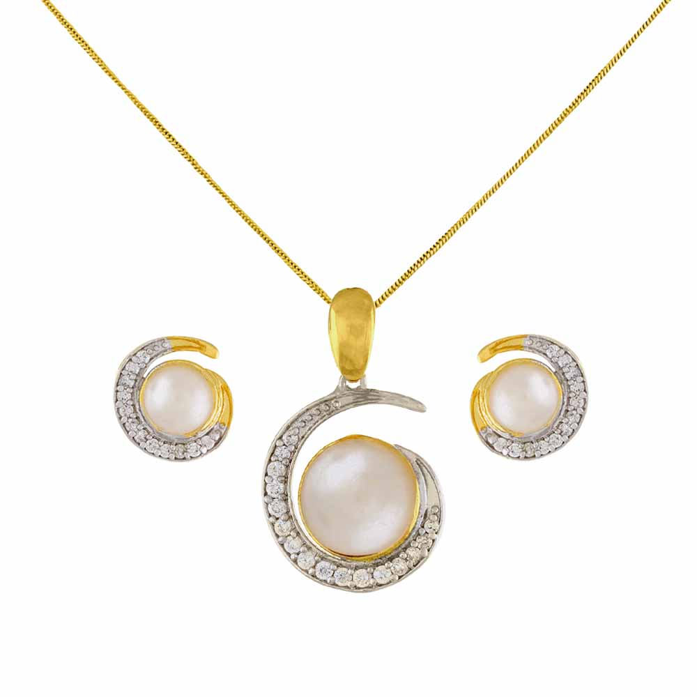 Precious-GORGEOUS PENDANT SET