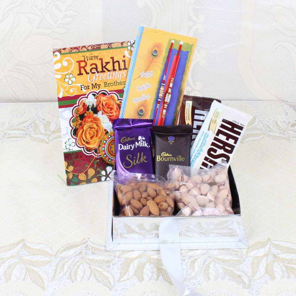 Rakhi Hampers-Rakhi Special Gifts Box