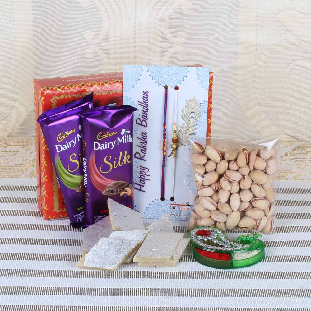 Rakhi Hampers-Complete Rakhi GIft for Brother