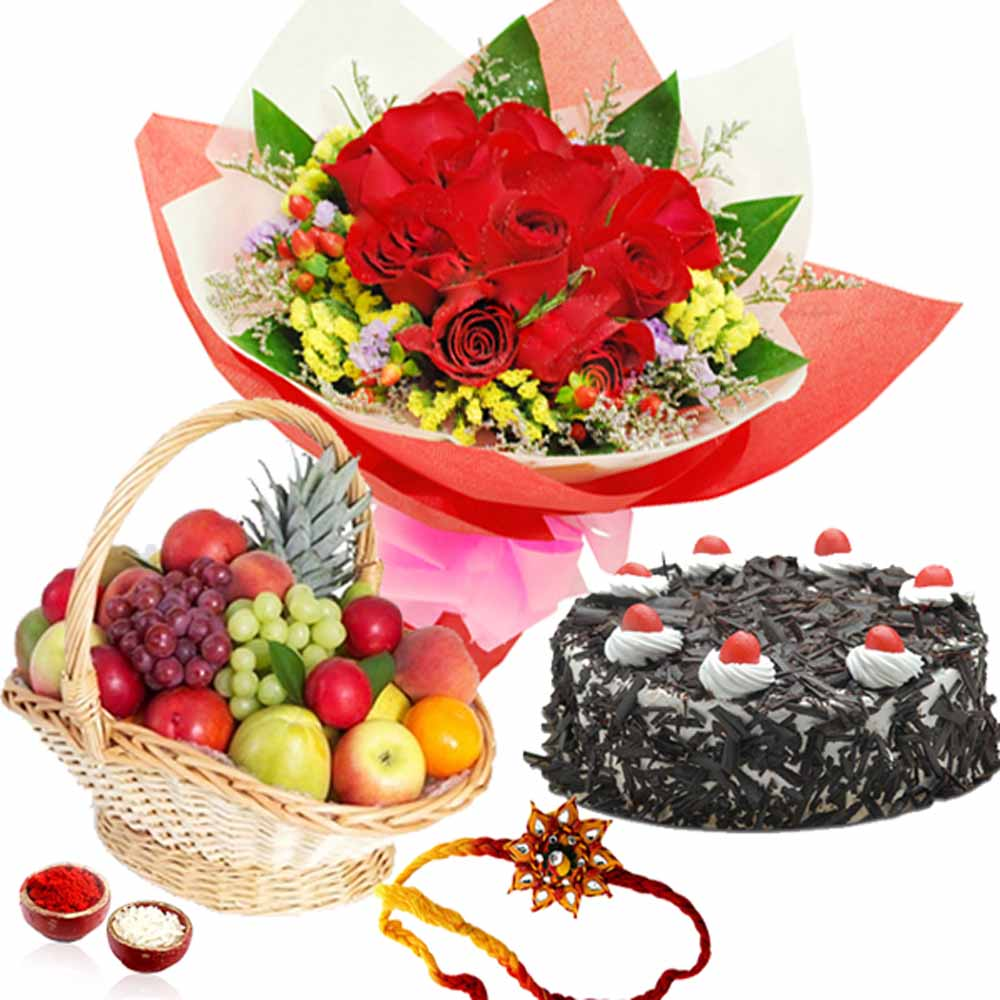 Exotic Rakhi Hamper