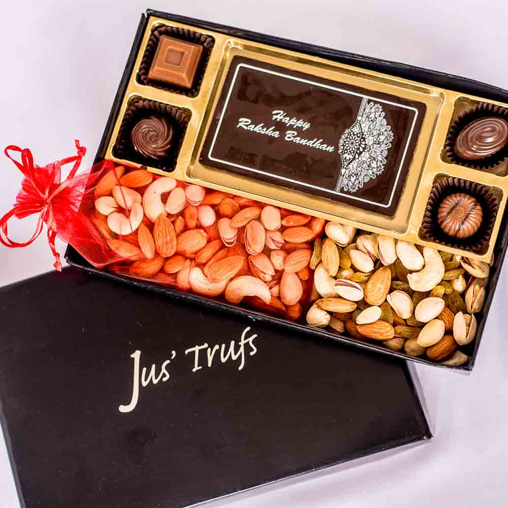 Rakhi Delight Chocolate Box