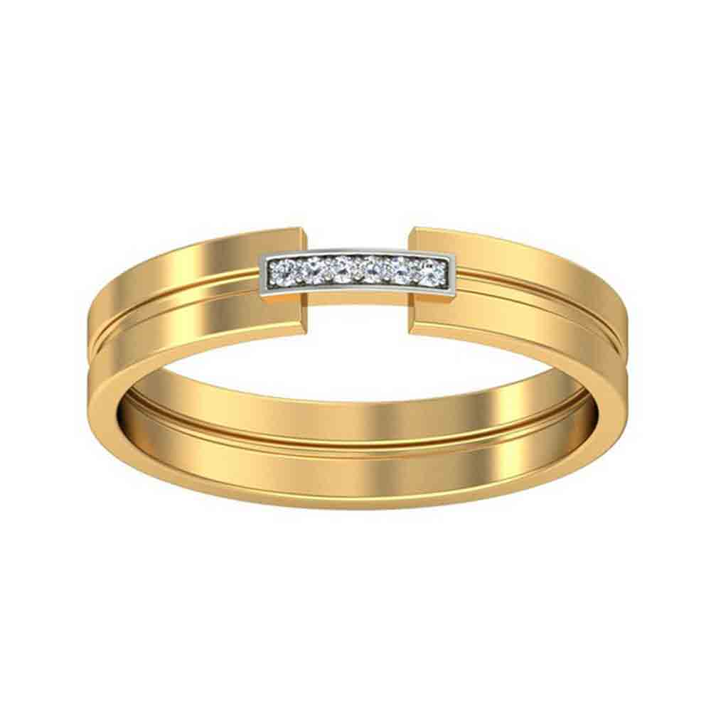 18 KT GOLD SOPHIE DIAMOND FINGER RING