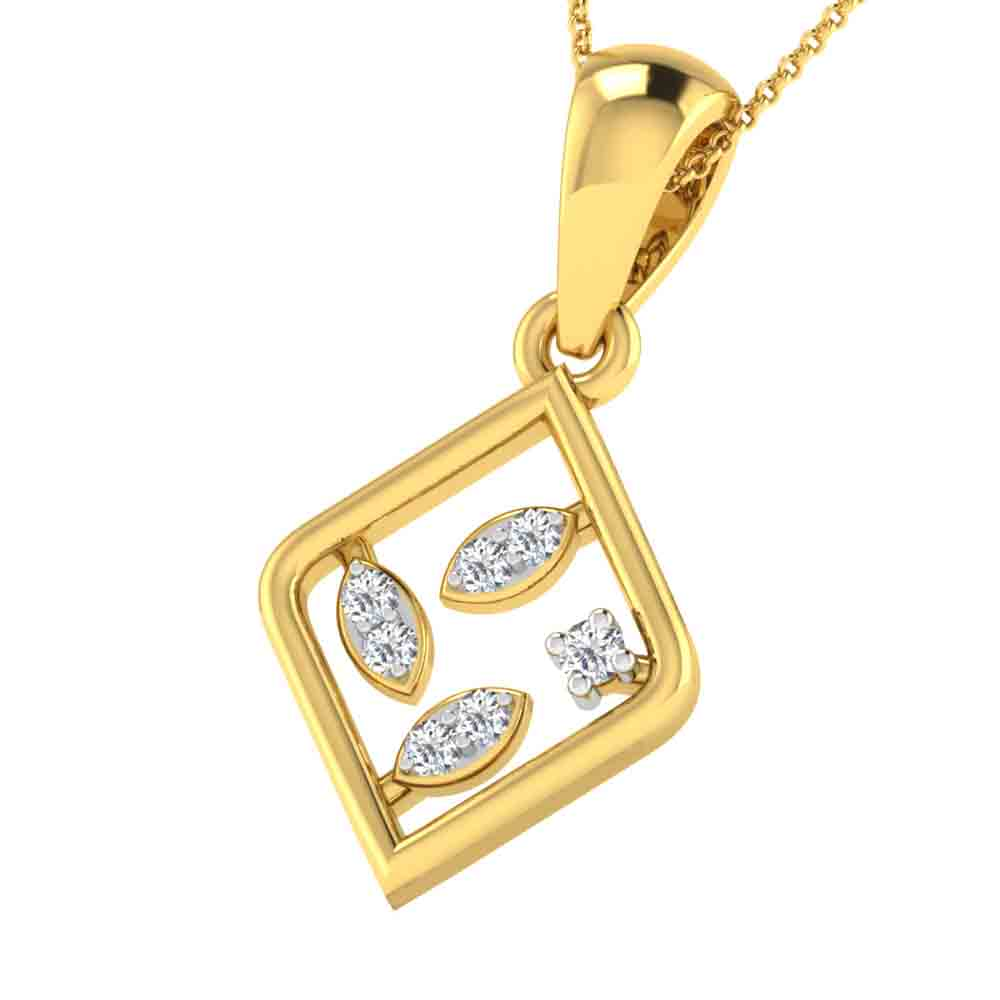 ROYCE DIAMOND PENDANT