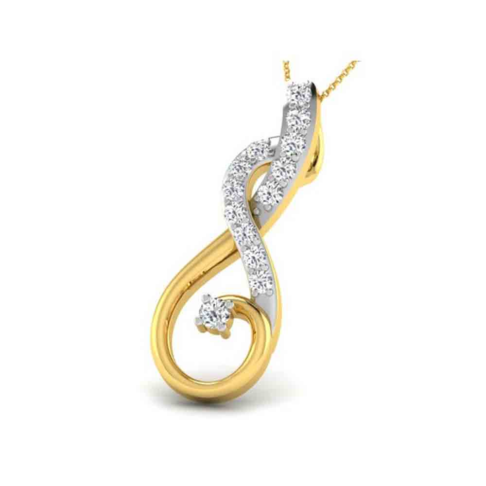 Precious-FAIRYN DIAMOND PENDANT