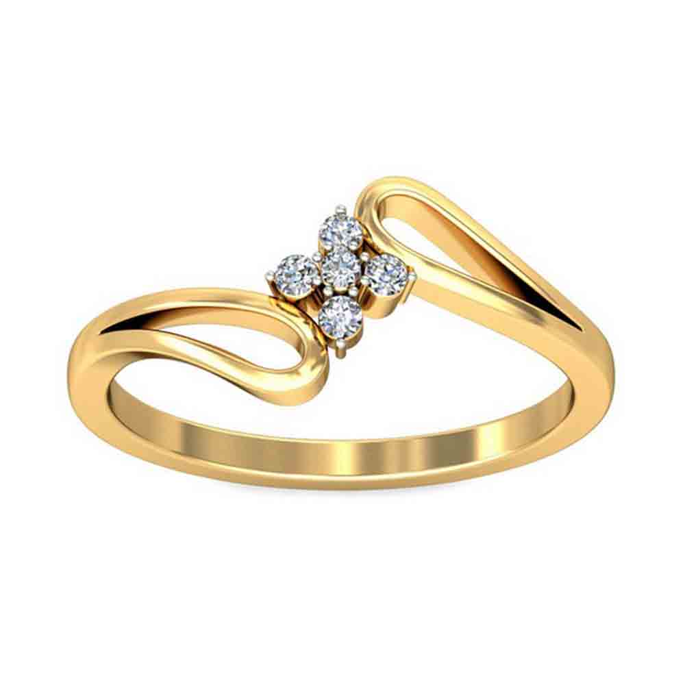 NAZIA 0.08CT DIAMOND RING