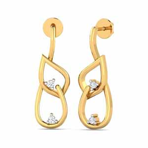 Precious-Lyra Diamond Earrings