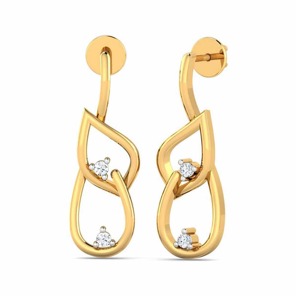 Lyra Diamond Earrings