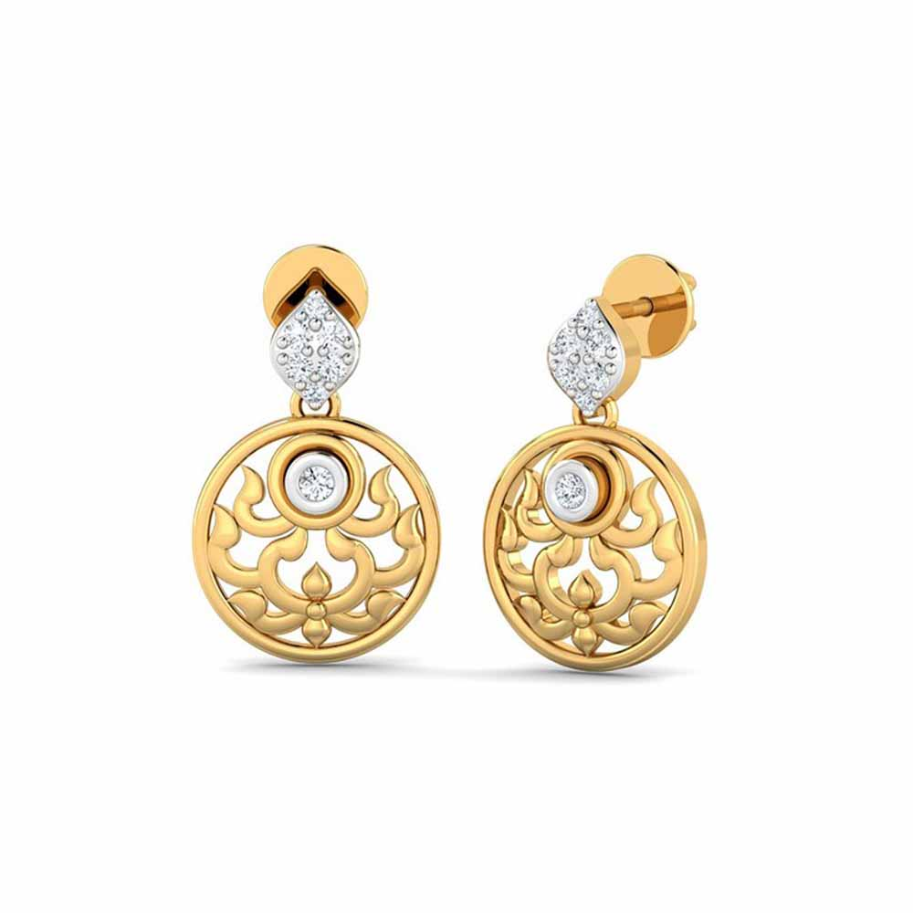 Precious-Priyanka Diamond Earrings