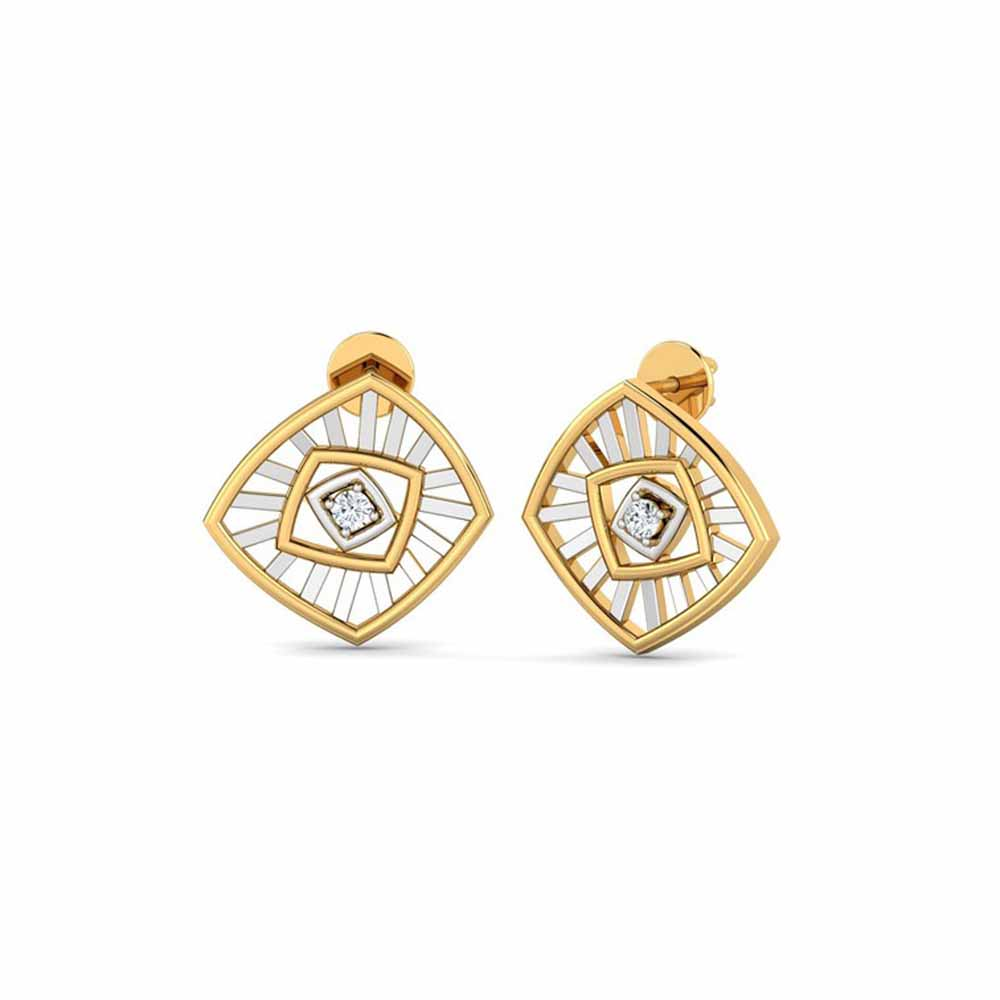 Victory Diamond Earrings