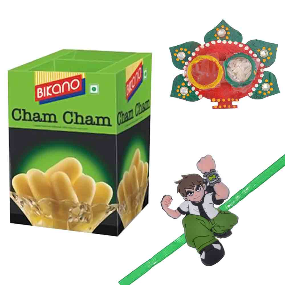 Bikano Cham Cham with Kids Rakhi