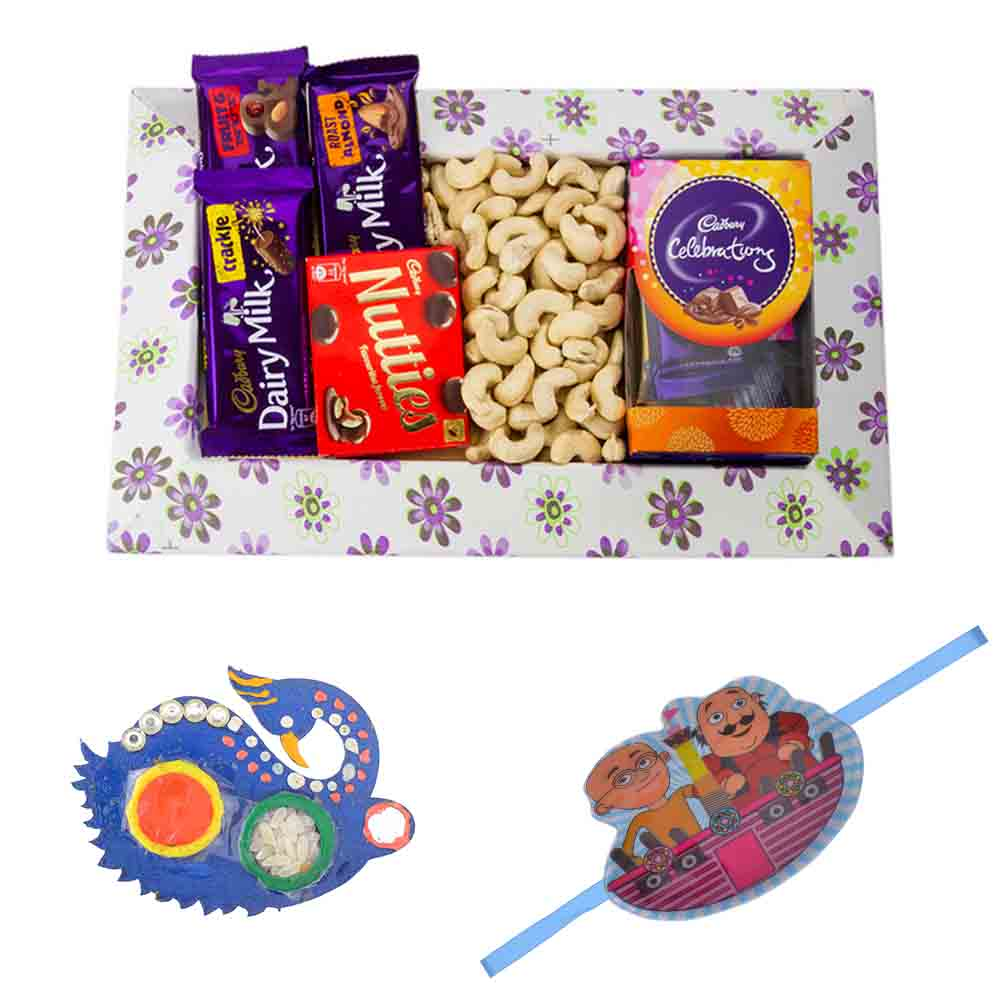 Choco Nutty with Kids Rakhi