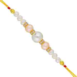 Royal Rakhi Collection-Aarya Pearl Rakhi