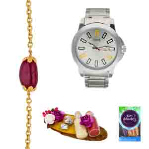 Gifts for Brother-Gracefull Rakhi Hamper