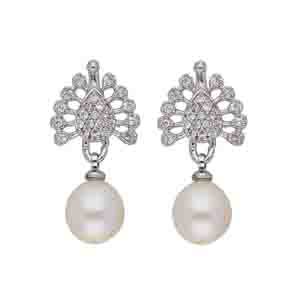 Precious-Sitara Pearl Earrings