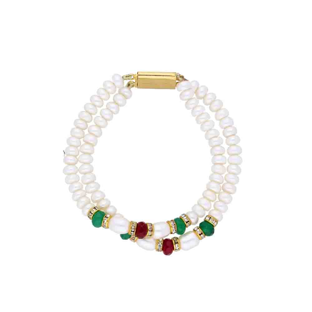 Colourful Pearl Bracelet